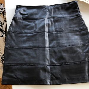 La Rok leather like mini